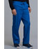 Photograph of Cherokee Luxe Men's Men's Fly Front Drawstring Pant Blue 1022-ROYV