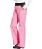 Photograph of Cherokee Flexibles Women's Mid Rise Knit Waist Pull-On Pant Pink 1031-PKMC