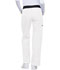 Photograph of Flexibles Women's Mid Rise Knit Waist Pull-On Pant White 1031-WHTS