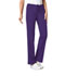 Photograph of Cherokee Luxe Women\'s Low Rise Straight Leg Drawstring Pant Purple 1066P-GRPV