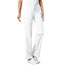 Photograph of Cherokee Luxe Women\'s Low Rise Straight Leg Drawstring Pant White 1066P-WHTV