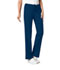 Photograph of Cherokee Luxe Women\'s Low Rise Straight Leg Drawstring Pant Blue 1066T-NAVV