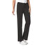 Photograph of Cherokee Luxe Women's Low Rise Straight Leg Drawstring Pant Black 1066-BLKV