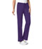 Photograph of Cherokee Luxe Women's Low Rise Straight Leg Drawstring Pant Purple 1066-GRPV