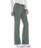 Photograph of Cherokee Luxe Women's Low Rise Straight Leg Drawstring Pant Green 1066-OLIV