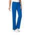 Photograph of Luxe Women's Low Rise Straight Leg Drawstring Pant Blue 1066-ROYV