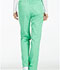 Photograph of Luxe Women's Low Rise Straight Leg Drawstring Pant Green 1066-SPCT