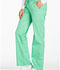 Photograph of Cherokee Luxe Women's Low Rise Straight Leg Drawstring Pant Green 1066-SPCT