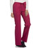 Photograph of Cherokee Luxe Women's Low Rise Straight Leg Drawstring Pant Red 1066-UPBT