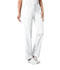 Photograph of Cherokee Luxe Women's Low Rise Straight Leg Drawstring Pant White 1066-WHTV