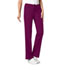 Photograph of Luxe Women Low Rise Straight Leg Drawstring Pant Red 1066-WINV