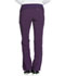 Photograph of Infinity Women's Low Rise Straight Leg Drawstring Pant Purple 1123A-EGG