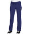Photograph of Infinity Women's Low Rise Straight Leg Drawstring Pant Blue 1123A-GAB