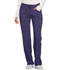Photograph of Infinity Women's Low Rise Straight Leg Drawstring Pant Purple 1123A-GRP