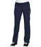 Photograph of Cherokee Infinity Women's Low Rise Straight Leg Drawstring Pant Blue 1123A-NYPS