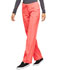 Photograph of Infinity Women's Low Rise Straight Leg Drawstring Pant Orange 1123A-ORSR