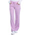 Photograph of Infinity Women's Low Rise Straight Leg Drawstring Pant Pink 1123A-PANY