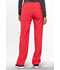 Photograph of Cherokee Infinity Women's Low Rise Straight Leg Drawstring Pant Red 1123A-PUNC