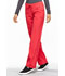 Photograph of Infinity Women Low Rise Straight Leg Drawstring Pant Red 1123A-PUNC
