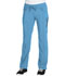 Photograph of Infinity by Cherokee Women's Low Rise Straight Leg Drawstring Pant Blue 1123A-TRQ