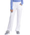 Photograph of Infinity Women's Low Rise Straight Leg Drawstring Pant White 1123A-WTPS