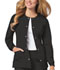 Photograph of Luxe Women Snap Front Jacket Black 1330-BLKV