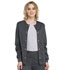 Photograph of Luxe Women's Snap Front Warm-Up Jacket Gray 1330-PEWV