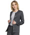 Photograph of Luxe Women Snap Front Jacket Gray 1330-PEWV