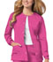 Photograph of Cherokee Luxe Women\'s Snap Front Warm-Up Jacket Pink 1330-ROSV