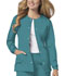Photograph of Luxe Women Snap Front Jacket Green 1330-TEAV
