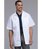 Photograph of Professional Whites Men Men's Zip Front Jacket White 1373-WHT