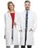 Photograph of Cherokee Whites Unisex 40 Unisex Lab Coat White 1446AB-WHTD