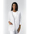Photograph of Professional Whites Women 3/4 Sleeve Embroidered Jacket White 1491-WHTD