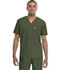 Photograph of Code Happy Bliss Men's Men's V-Neck Top Green 16600AB-OLCH