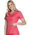 Photograph of Cherokee Luxe Women's Mock Wrap Top Pink 1841-FICL
