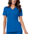 Photograph of Luxe Women's Mock Wrap Top Blue 1841-ROYV