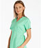 Photograph of Luxe Women's Mock Wrap Top Green 1841-SPCT