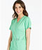 Photograph of Cherokee Luxe Women's Mock Wrap Top Green 1841-SPCT