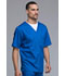 Photograph of Luxe Men's Men's V-Neck Top Blue 1929-ROYV