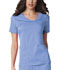 Photograph of Luxe Women's Crossover V-Neck Pin-Tuck Top Blue 1999-CELV