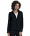 Photograph of Break on Through Women's Zip Front Warm-Up Jacket Black 20310-BCKH