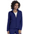 Photograph of Break on Through Women's Zip Front Warm-Up Jacket Blue 20310-GLXH