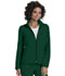 Photograph of Break on Through Women's Zip Front Warm-Up Jacket Green 20310-HUNH