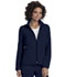 Photograph of Break on Through Women's Zip Front Warm-Up Jacket Blue 20310-NAYH