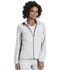 Photograph of Break on Through Women's Zip Front Warm-Up Jacket White 20310-WHIH