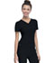 Photograph of Break on Through Women's Shaped V-Neck Top Black 20710-BCKH