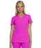 Photograph of Break on Through Women's Shaped V-Neck Top Purple 20710-BERP