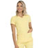 Photograph of Break on Through Women's Pitter-Pat Shaped V-Neck Top Yellow 20710-BTTP