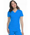 Photograph of Break on Through Women's Pitter-Pat Shaped V-Neck Top Blue 20710-BUBH