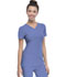 Photograph of Break on Through Women's Shaped V-Neck Top Blue 20710-CILH
